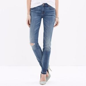 Madewell Alley Straight Jeans, Drop-Hem Edition